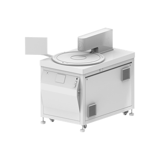 Image of a smaller visual sorting machine from Doss