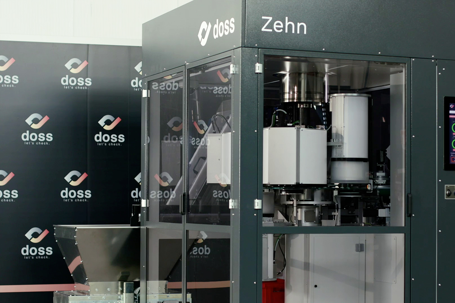 Zehn single table automatic inspection machine by Doss