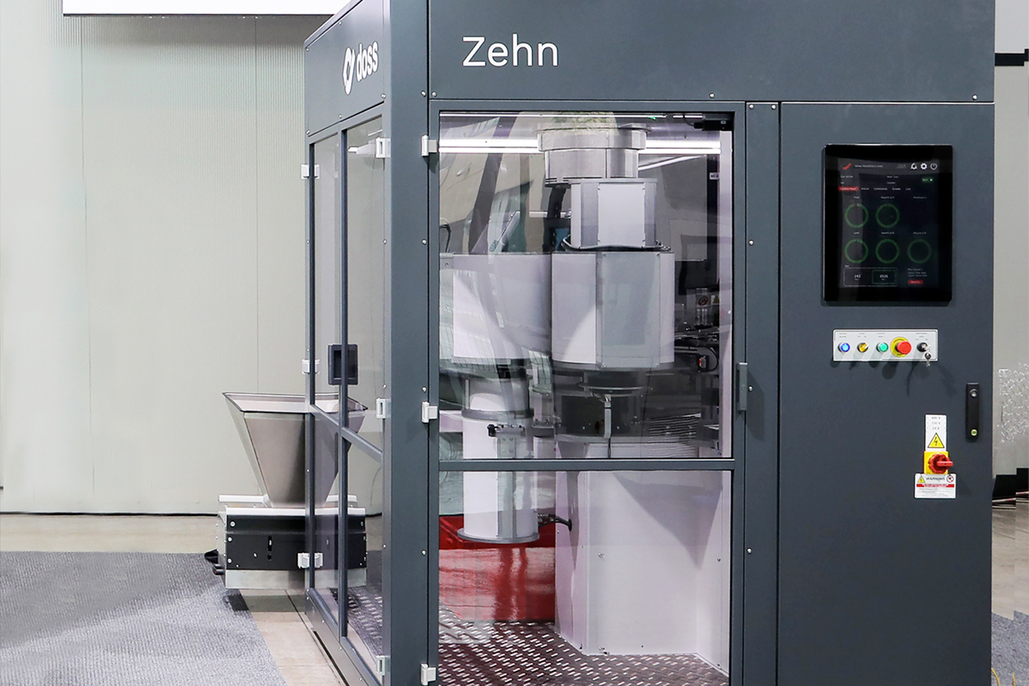 Zehn single table automatic inspection machine by Doss Visual Solutions USA
