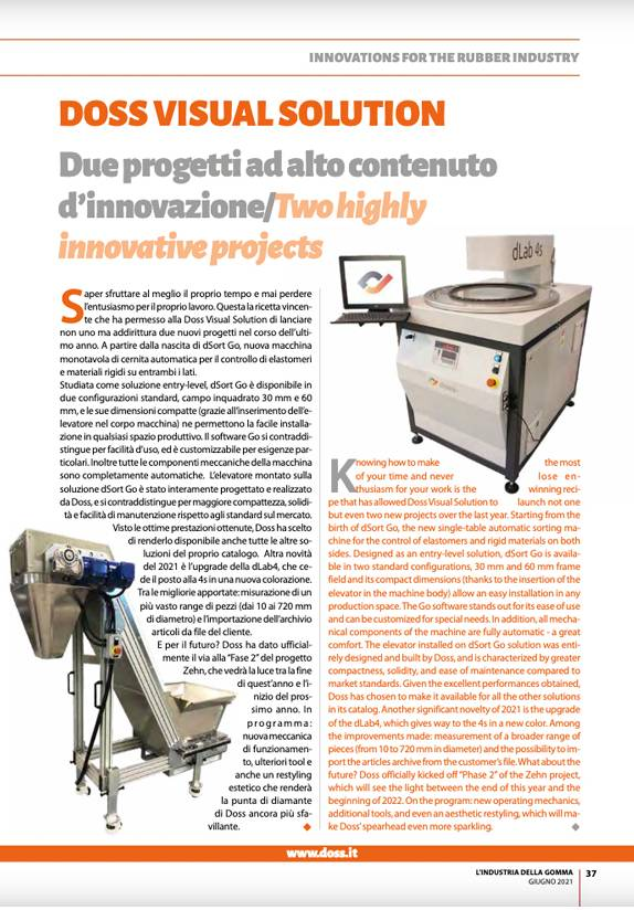 Doss Visual Solution Two Highly Innovative Projects PDF