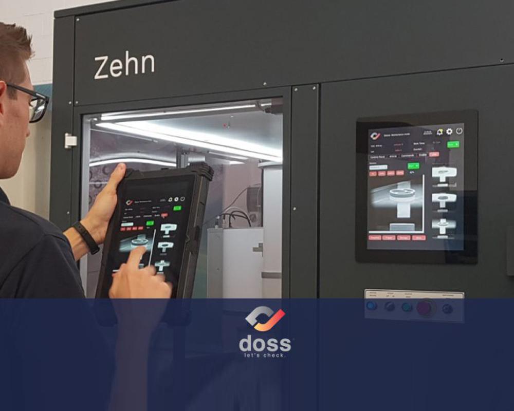Zehn equipment by Doss. Touch screen Controls.